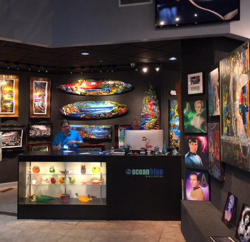 Art Gallery Ocean Blue Galleries St. Petersburg, Winterpark Orlando, Wyland Galleries Sarasota