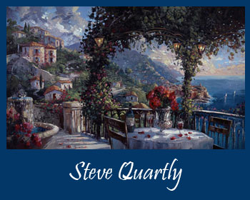 Art by Steve Quartly - Ocean Blue Galleries St. Petersburg and Winter Park