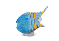 ANGELFISH medium - Studio Line - BOROWSKI GLASS at Ocean Blue Galleries