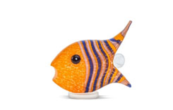 ANGELFISH small - Studio Line - BOROWSKI GLASS at Ocean Blue Galleries
