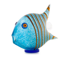 ANGELFISH tall - Studio Line - BOROWSKI GLASS at Ocean Blue Galleries