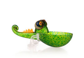 CHAMELEON - Studio Line - BOROWSKI GLASS at Ocean Blue Galleries