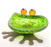 HOPPER - Studio Line - BOROWSKI GLASS at Ocean Blue Galleries