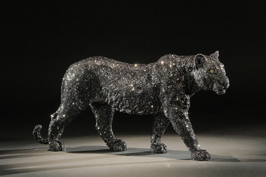 BLACK PANTHER by Clarita Brinkerhoff Ocean Blue Galleries