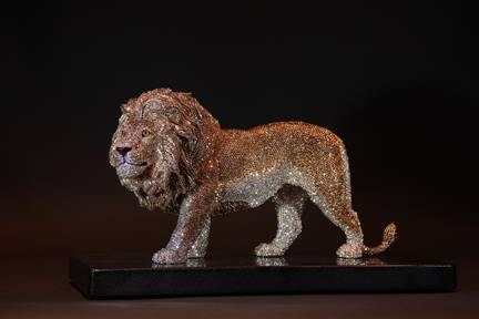 LION by Clarita Brinkerhoff Ocean Blue Galleries