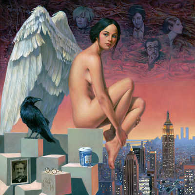 Angel of New York by Michael Cheval at Ocean Blue Galleries
