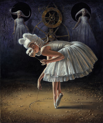 Circle of Time by Michael Cheval at Ocean Blue Galleries