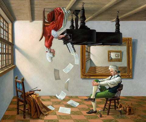 Discord of Analogy by Michael Cheval at Ocean Blue Galleries