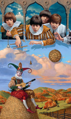 Fool on the Hill by Michael Cheval at Ocean Blue Galleries
