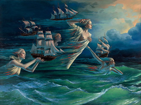 Harbor of Hope by Michael Cheval at Ocean Blue Galleries