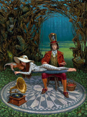 Imagine III by Michael Cheval at Ocean Blue Galleries