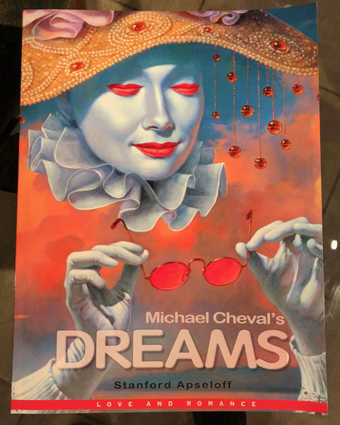 Retired Book by Michael Cheval at Ocean Blue Galleries