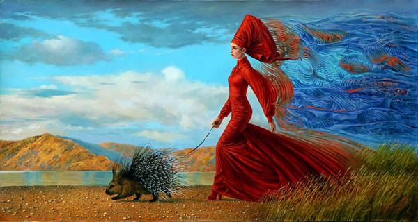 Stormy Monday II by Michael Cheval at Ocean Blue Galleries