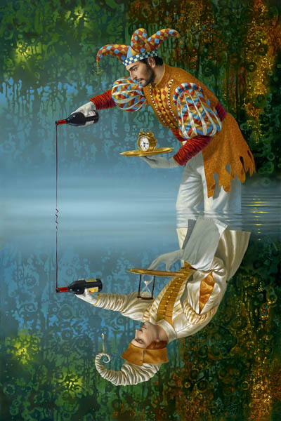 Alter Ego Convention II by Michael Cheval at Ocean Blue Galleries