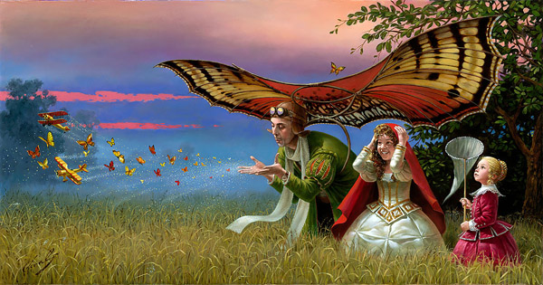Promises of Parting Summer by Michael Cheval at Ocean Blue Galleries