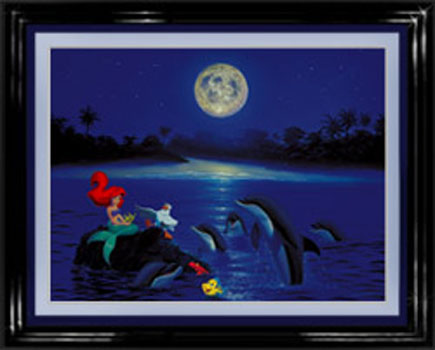 Arial's Dolphin Serenade giclee