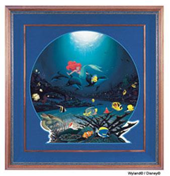 Ariel's Ocean Ride Giclee