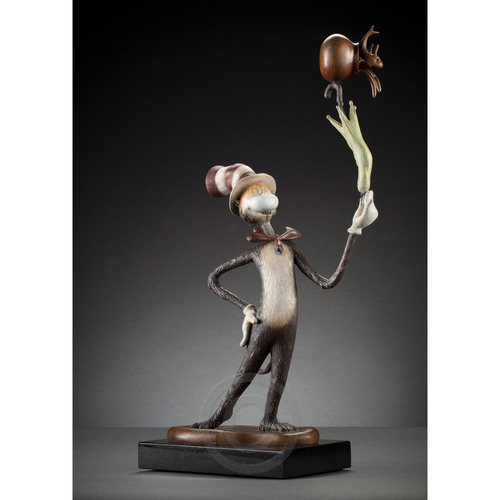 HAVE NO FEAR! - MAQUETTE Dr. Seuss Bronze Tribute Collection Ocean Blue Galleries