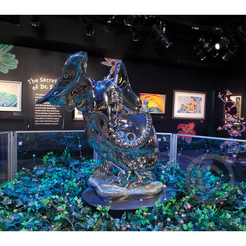 HORTON STAINLESS STEEL - LARGE SCALE Dr. Seuss Bronze Tribute Collection Ocean Blue Galleries