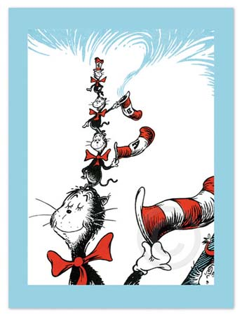 LITTLE CATS B, C AND A Dr. Seuss Illustration Ocean Blue Galleries