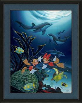 Mickey & Minnies Coral life
