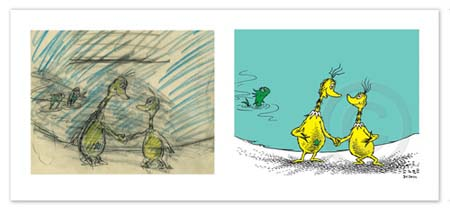 STARS UPON THARS - DIPTYCH AND SINGLE Dr. Seuss Illustration Ocean Blue Galleries