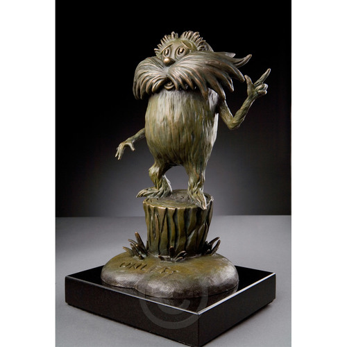 THE LORAX - MAQUETTE Dr. Seuss Bronze Tribute Collection Ocean Blue Galleries