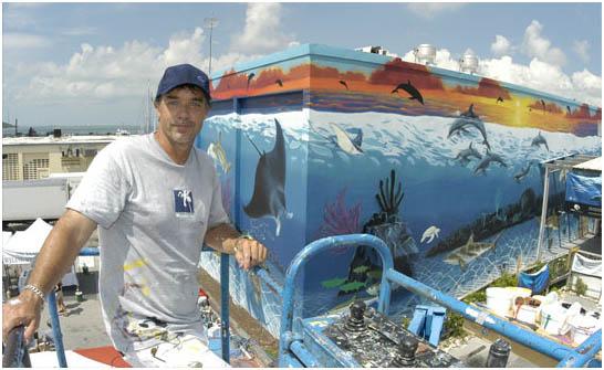 Wyland Marine Life Artist Ocean Blue Galleries Winter Park