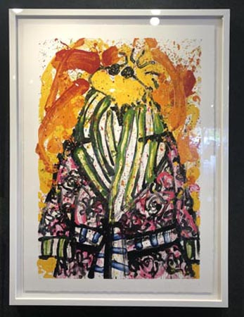 Shorty Wearing Jim Dine by Tom Everhart Ocean Blue Galleries