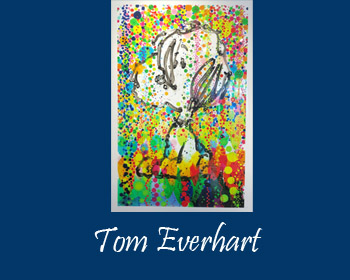Tom Everhart Art at Ocean Blue Galleries