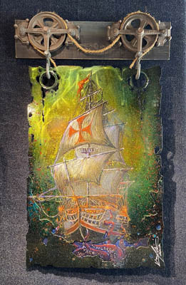 Last Sail by Krystiano DaCosta at Ocean Blue Galleries