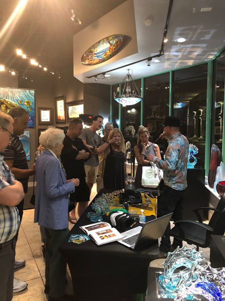 Artist Shows & Art Shows at Ocean Blue Galleries St. Petersburg