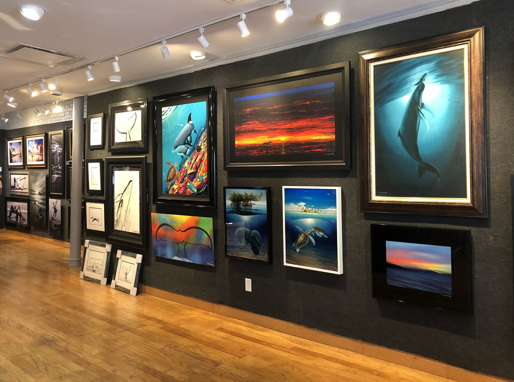Ocean Blue Galleries Winter Park Art Gallery - Featuring Wyland Paintings