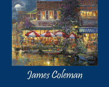 James Coleman Art for Sale at Ocean Blue Galleries Key West