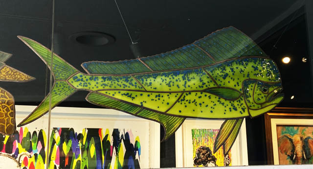 Mahi Dolphin Fish - David Oppenheimer Ocean Blue Galleries