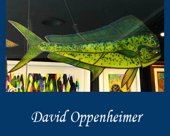 Glass Art David Oppenheimer - Ocean Blue Galleries